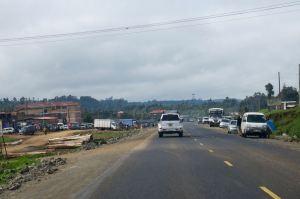 On the road to Nakuru