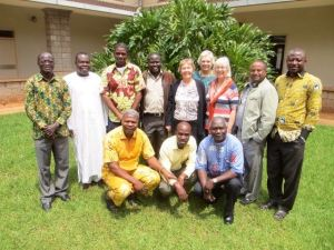 Barbara with Bible translators