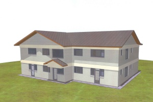 Proposed apartments at Tumaini