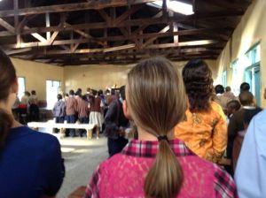 Attending church in Machakos