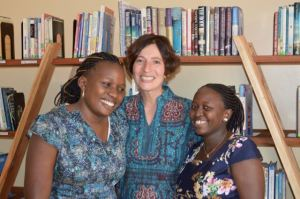 Judith and Kampala staff