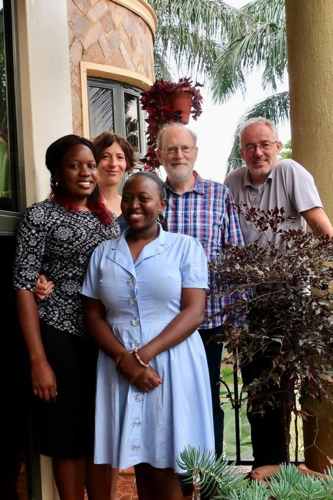 The Tumaini Kampala team